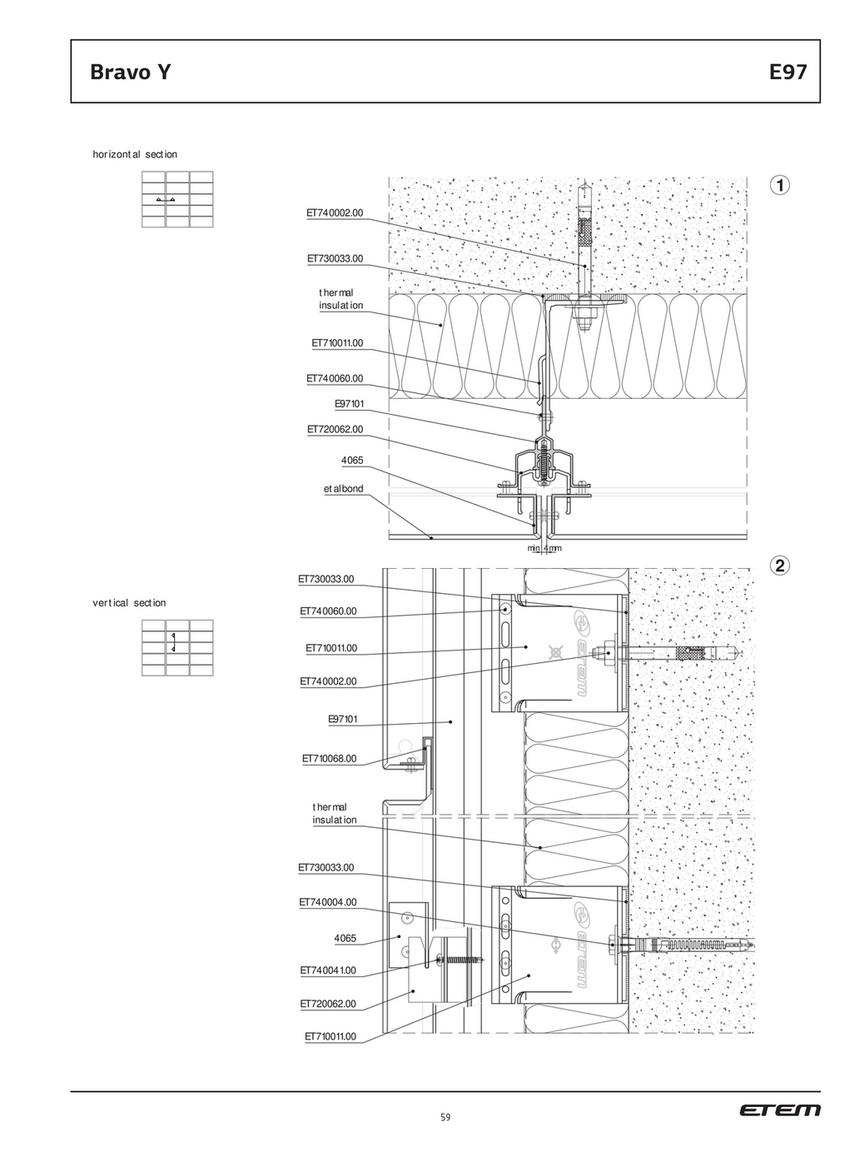 /en laiton chrom/é /25,4/mm/ Goedrum 10/double extr/émit/é Tube pattes avec vis de montage/