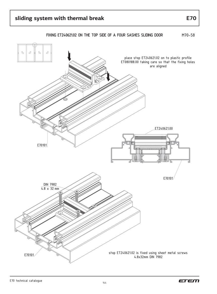 ETEM - Technical catalogue E70 - Page 144-145