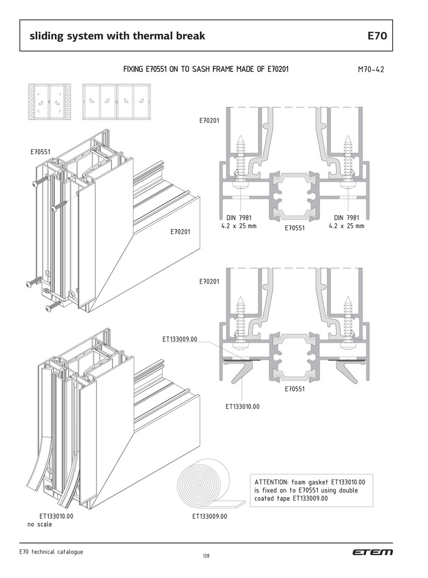 ETEM - Technical catalogue E70 - Page 128-129