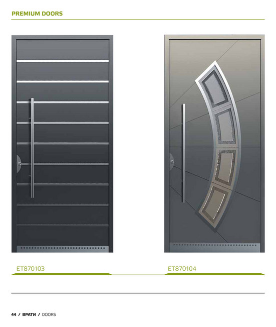 PREMIUM DOORS ET870103 44 / ВРАТИ / DOORS ET870104  sc 1 st  ETEM & ETEM - Doors_catalogue - Page 44-45