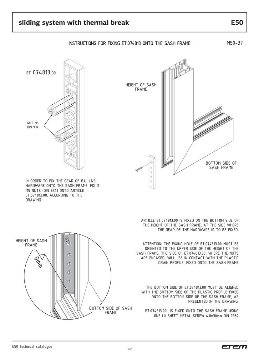 ETEM - technical catalogue E50 - Page 152-153
